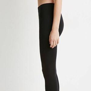 Forever 21 knit black leggings size M